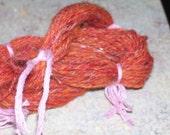 MUGGLE - 43 yards 3 ply handspun wool and angelica sport weight yarn