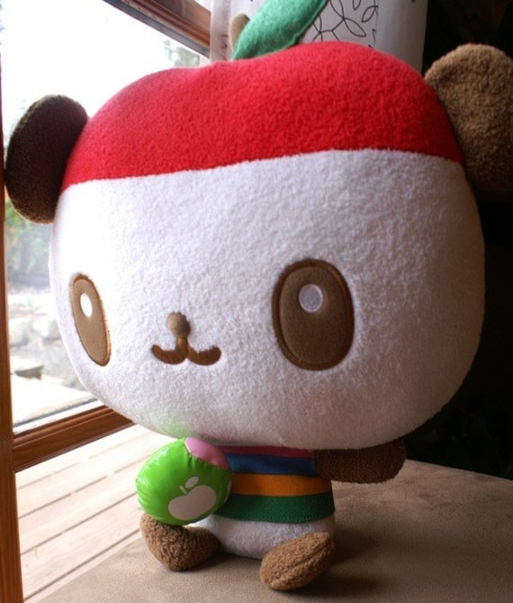 XL Pandapple Plush, Huge Cutie Pie Kawaii , Sanrio