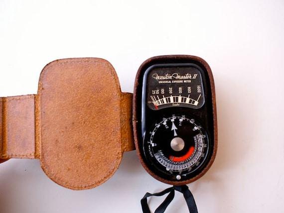 Vintage Universal Exposure Light Meter, Weston Master II