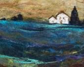 No.691 Blue Hills - Needlefelt Art XLarge