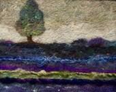No.296 Dusk - Needlefelt Art Large