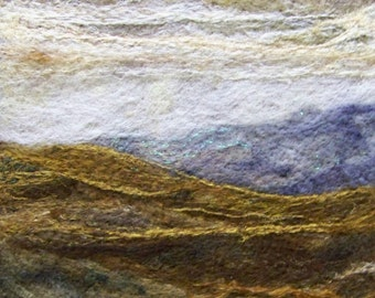 No.486 Golden Hills - Needlefelt Art Large
