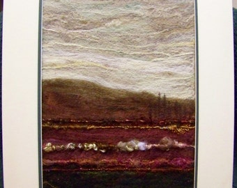 No.576 Rose Valley - Needlefelt Art XLarge