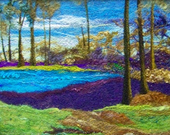 No.670 Fantasy Land Too - Needlefelt Art XLarge