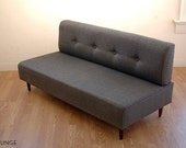 BOKZ button back sofa   Mid Century Modern Eames Era Dannish Classic Design