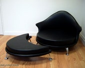 Havana Retro Lounge Chair and Ottoman Eames Era Mid Century Modern