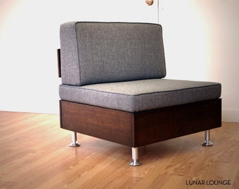 E.F. Lounge chair   Mid Century Modular seating system