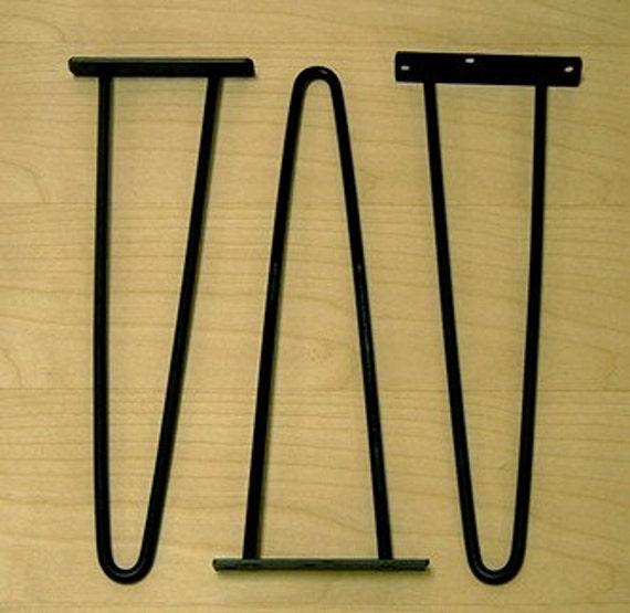 Hair pin legs 14 inch retro atomic eames era classic style wow