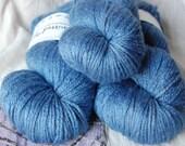 Worsted Merino Silk Azulite