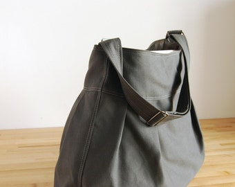 The Market Bag - in Gunmetal Gray