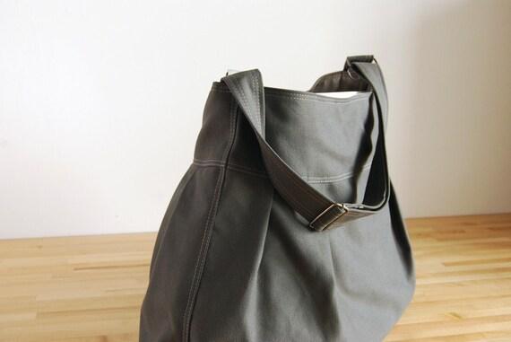 The Market Bag - in Gunmetal Gray