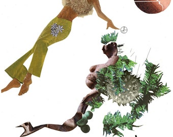 Pasiphae 2 .....a Collage by N. Gilligan