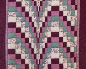 Burgundy Bargello