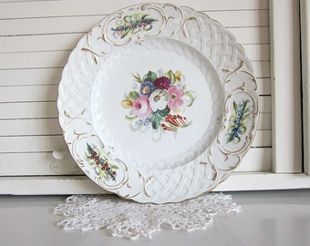 Antique Thomas Furnival Plate, 1800s