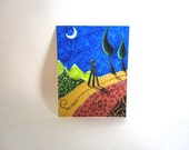 ACEO, The Moon Cast her Shadow,  Archival Print