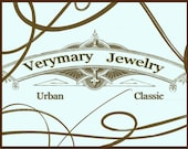 Business card design for Verymary Jewelry