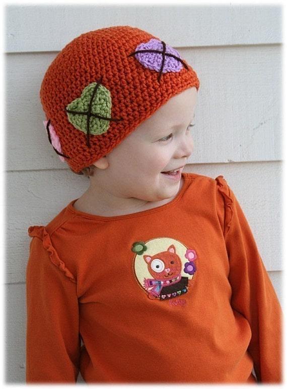 All Hearts Argyle Hat ebook Pattern