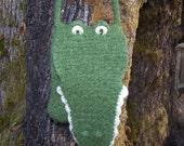 PDF Pattern Aligator Bag/purse to crochet and felt