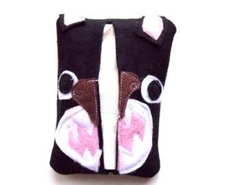 Grumpy bear tissue cozy