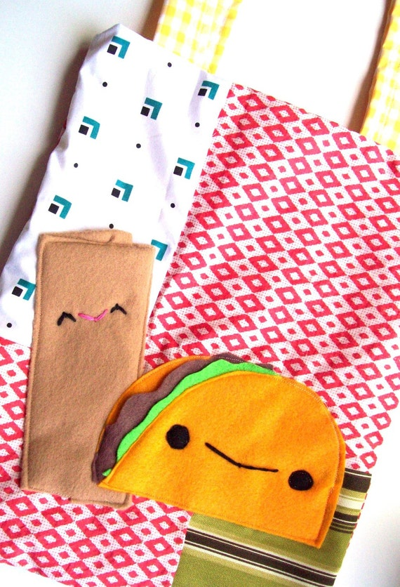 SALE-Taco time tote bag (Last one)