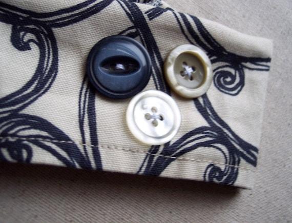 Antique Button Coffee Cuff