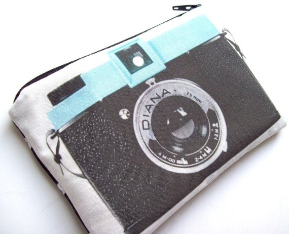 Vintage camera series-Diana pouch