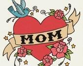 MOM Classic Tattoo Card