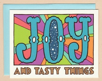JOY and Tasty Things Card