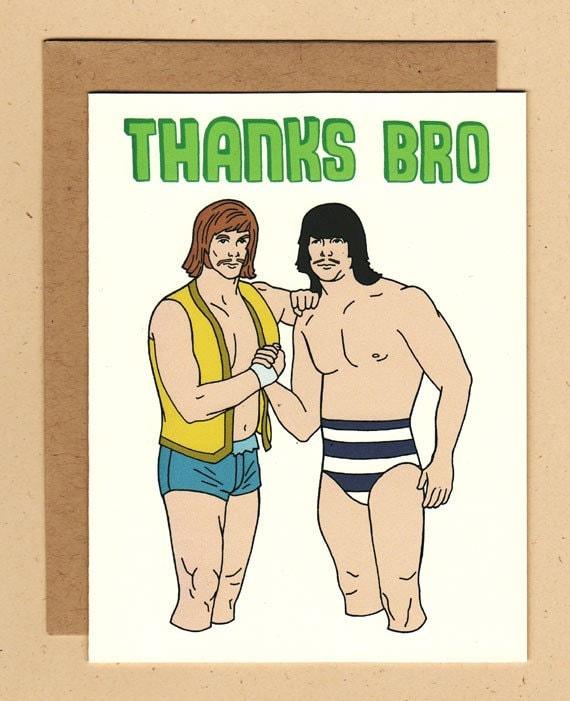 Thanks Bro Wrestling Tag Team Card