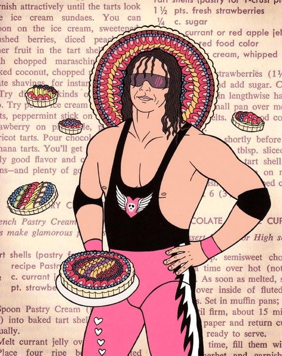 Bret Hart - Master of Tarts