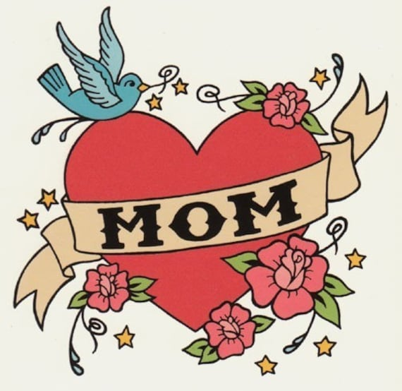 MOM Classic Tattoo Card