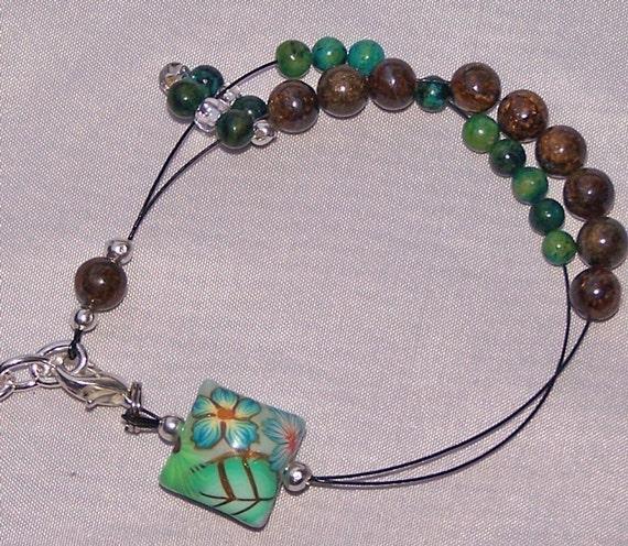 Santa Fe Row Counter Bracelet for Knit and Crochet Small to Medium