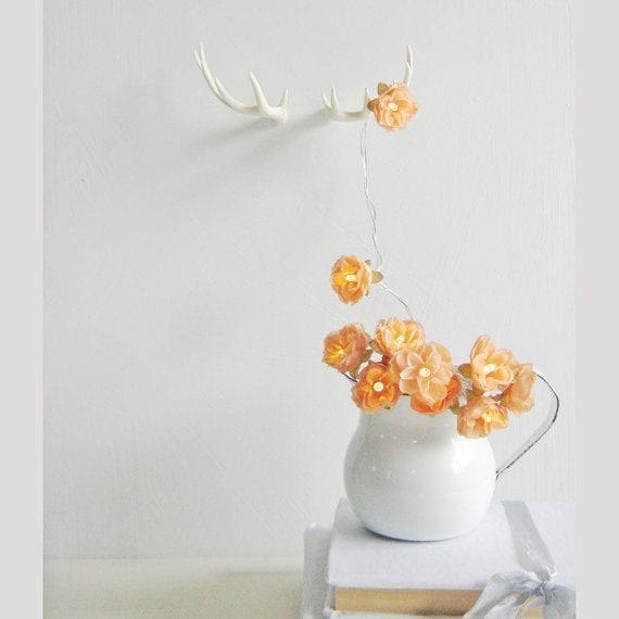 Orange Blossom - Wild Roses Fairy Lights