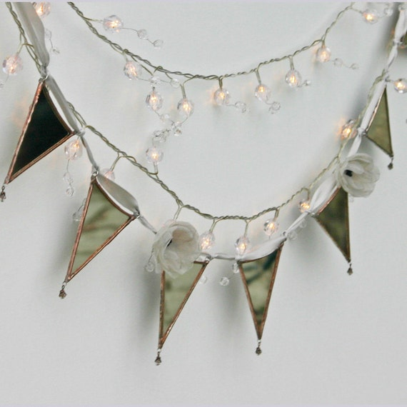 Fairytale Living - mirrored glass bunting