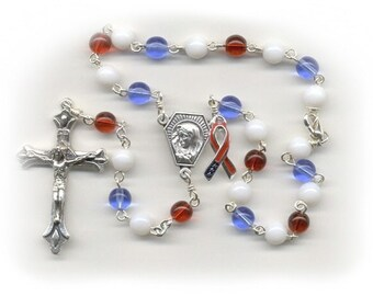 Liberty Car Rosary ~ Red, White & Blue ~ Raising Money for Veterans in Need