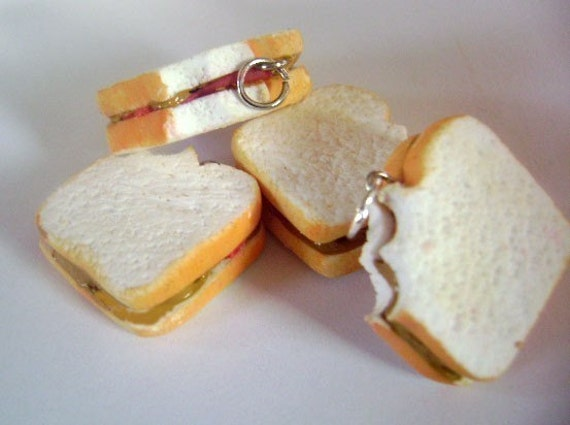 Scented Peanut Butter and Jelly Charm