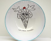 Ice Cream Monster Bowl