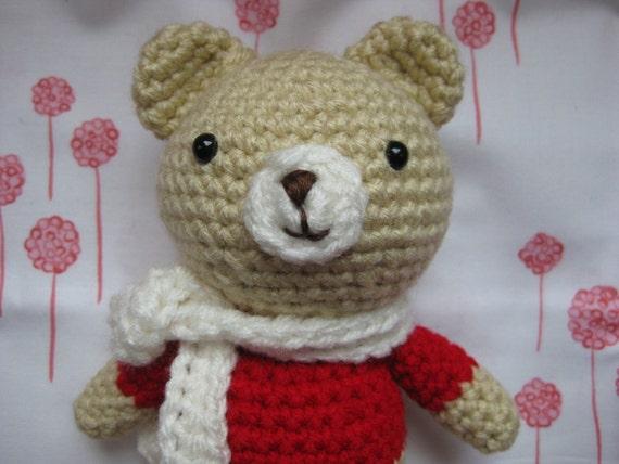 Sweet Winter Bear - Amigurumi Pattern