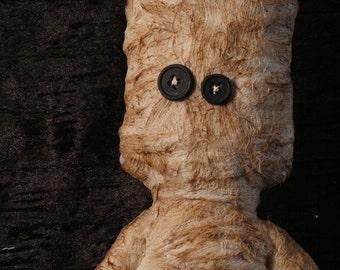 Mummy- Handmade Silly Fabric Monster