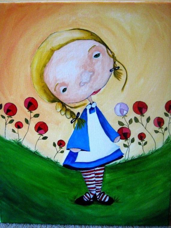 Original Acrylic - Alice