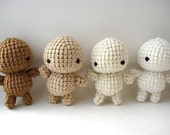 DIY - Decorate Your Own Crochet Amigurumi Moon Man