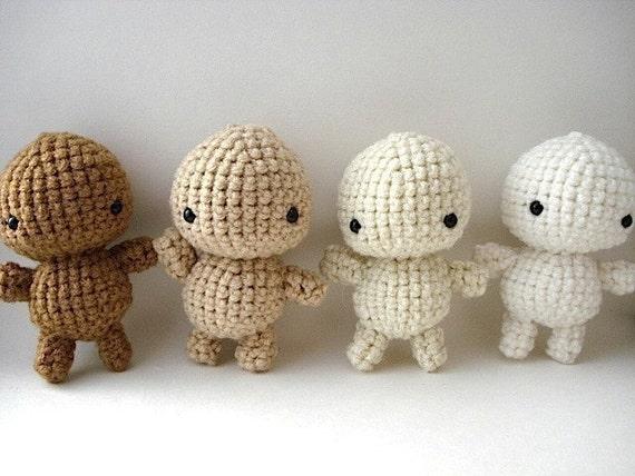 DIY - Decorate Your Own Crochet Amigurumi Moon Man