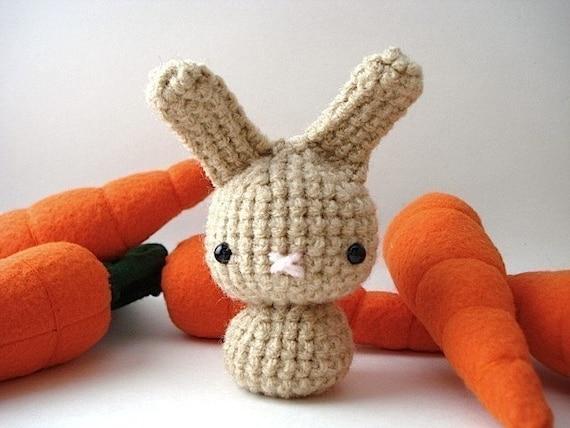Fawn Moon Bun - Amigurumi Bunny Rabbit