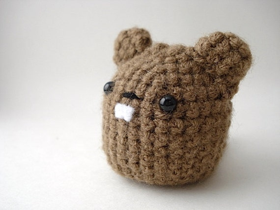 Items Similar To Cute Groundhog Amigurumi On Etsy