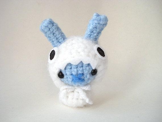 Baby Yeti Moon Bun Amigurumi Bunny Rabbit with by ...