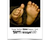 Card - Baby Feet