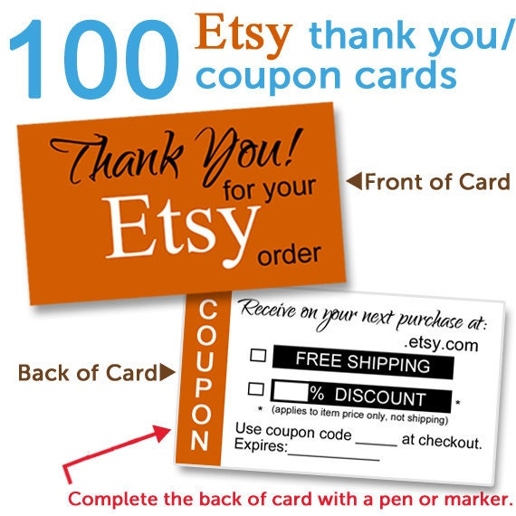 Esty coupon code