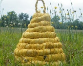 Quaint Cottage Bee Skep (OOAK) by MFAS