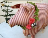 Chester the Holiday Ham Christmas Pig