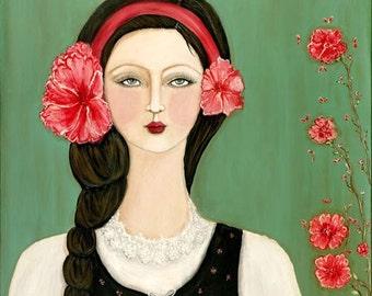 Gypsy Girl - Flora